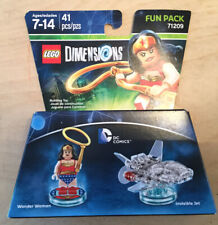 LEGO Dimensions Xbox 360 One PS3 PS4 Fun Pack 71209 Wonder Woman Invisible Jet