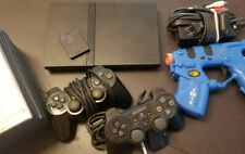 PlayStation 2 Slim bundle lot, Ps2 10 games incl Re 4 premium edition tested