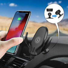 10W Qi Wireless Car Charger Gravity Sensor Car Bracket For iPhone 12 Pro 11 XR 8