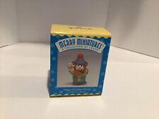 Hallmark Keepsake Merry Miniatures - Happy Birthday Clown Bear #3 - 1996 Qsm8565