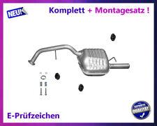 Endschalldämpfer für Mazda 5 1.8 2.0 16V 85/107KW Auspuff Endtopf + Montagesatz