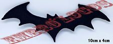 BLACK BAT With Red Eyes Iron Sew On Patch Emo Goth Punk Rock