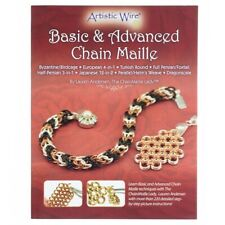 Basic and Advanced Chain Maille Book by Lauren Andersen