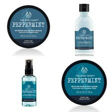 The Body ShopPEPPERMINT Products - Cooling Foot Spray | Lotion | Scrub | Rescue