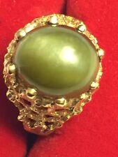 Antique Cats Eye Ring – 14k gold setting