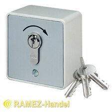 Schlüsseltaster Schlüsselschalter m. PHZ Tor Antrieb Motor Garagentor MS-APZ1-1T
