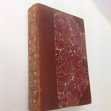 The Poetical Works Of Elizabeth Browning Art Nouveau Decoration Leather Binding