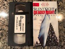 Silent Night Deadly Night 4 Initiation Vhs! 1990 Slasher! Witchboard Scream 4