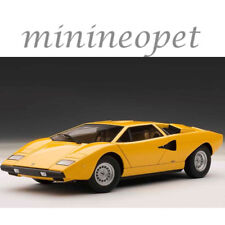 AUTOart 74646 LAMBORGHINI COUNTACH LP400 1/18 MODEL CAR YELLOW