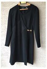 Liz Claiborne Dresses Black Formal Dress Knee Length Long Sleeved Size 6 EUC