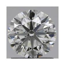 Charles and Colvard 5mm Round Forever One DEF Hearts & Arrows Moissanite w/Card