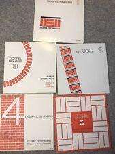 Oklahoma State OUS Vol 1-5 Gospel Student Entertainers Vinyl LP Ashley Alexander