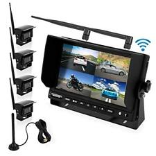 Pyle Waterproof Nightvision Wireless Rear View Camera w/ Distance Scale Lines