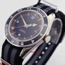 41mm DEBERT blue dial blue bezel sapphire glass Luminous Automatic mens Watch