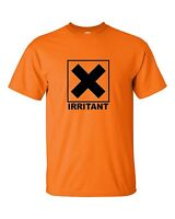 IRRITANT Chemical Symbol Funny Heavy Cotton t-shirt ALL SIZES SMALL - XL