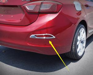For Chevrolet Cruze 2017-2018 ABS Chrome Rear Fog Light Lamp Cover Trim