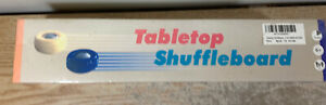 Tabletop Shuffleboard Game, Measures Almost 4 Feet Long and Rolls Up Quickly