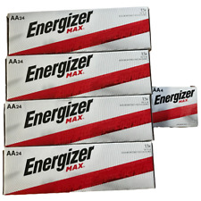 Energizer Max E91-VP AA Batteries 100 Pack - Bulk  New Exp.12/2030