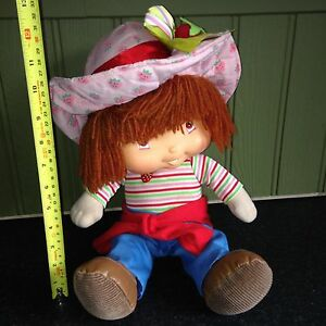 STRAWBERRY SHORTCAKE TALKING PLUSH SOFT TOY COLLECTABLE DOLL 2004