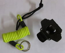 1 Oxford Motorcycle Motorbike Scooter Disc Lock Minder Cable Yellow + Bracket