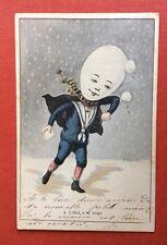 CPA. Illustrateur A. MULLER. 1905. L'Oeuf à la neige. 4. Garçon. Costume Marin.
