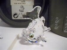 Swarovski Crystal Baby Carp Retired 211743 Mib Coa