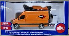 Siku 1/50 Die Cast Mercedes-Benz Sprinter w/ Elevated Work Platform