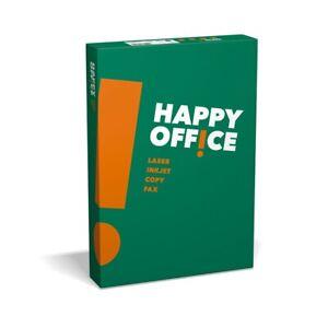100000 Blatt = 1 Palette Kopierpapier Happy Office DIN A4 80g/m² weiß