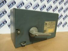 Ge Qmr361 Single 30 Amp 600v 3p Fusible Painted Type Qmr Switch Warranty