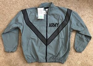 BRAND NEW Army Issue Army Surplus Lightweight Jacket Water/Wind Resistant IPFU