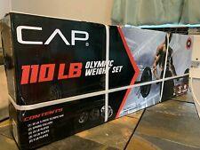 CAP OBB-84B3 7ft Weight Lifting Bar - 3 Piece