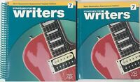Grade 7 Strategies for Writers 7th Writing Curriculum Homeschool Bundle
