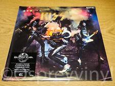 KISS Alive! Stunning Double 180g Sealed Vinyl LP + MP3 Voucher Gatefold Edition