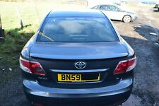2010 TOYOTA AVENSIS T27 TAILGATE / BOOTLID WITH SPOILER - DECUMA GREY (1G3)