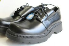 Vintage SKECHERS USA RAMZ Men's Oxford Shoes, Black Leather. US Size 11 D