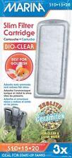 Marina Slim Filtro Bio claro Cartucho (Paquete De Tres) S10, S15, S20 * Original *
