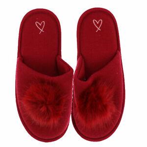 Victoria's Secret Slippers Slides House Shoes Lounge Sleepwear Footwear New Vs