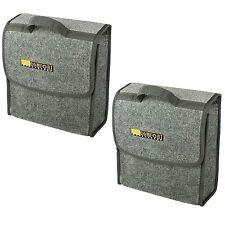 (302) 2 x Kofferraumtasche Toolbag Klettband Tasche Kofferraum