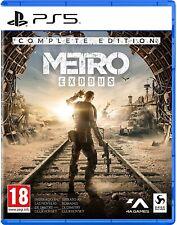 METRO EXODUS COMPLETE EDITION PS5 GIOCO ITALIANO PLAY STATION 5 VIDEOGIOCO ITA