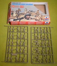 MODEL KIT ESCI 1/72 SCALE WORLD WAR BRITISH 8TH ARMY SOLDIERS 207
