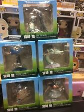 Studio Ghibli Figure Complete Set: Totoro, Spirited Away, Moving Castle. Rare