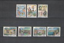 B8597 - ITALIA 1992 - LOTTO USATI -  SERIE COMPLETA TURISMO - COLOMBO - V. FOTO