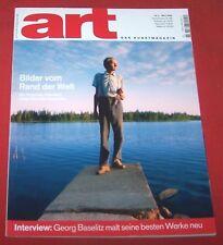 art Das Kunstmagazin 2006 Nr  3 , Männikkö Baselitz Grcic Bonvicini Ingres