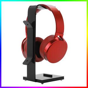 U-Form Kopfhörerständer Halter Acryl Gaming Headset Tischhalterung Aufhänger DE