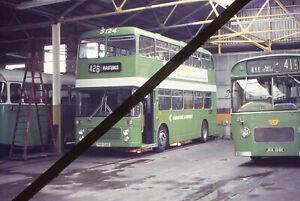 Original Bus Slide; MAIDSTONE & DISTRICT - PKP 124R