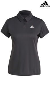 Adidas HEAT.RDY Women's Tennis Polo Shirts Black GL5806