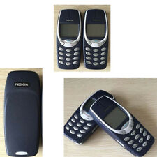 Unlocked Nokia 3310 Original Black Mobile Phone Classic Genuine 2G Bar Style