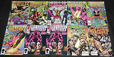 Marvel Bronze-Modern HERCULES 41pc Count Mid-High Grade Comic Lot VF-NM