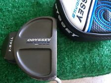 """Odyssey Works 2-ball putter 35"""" right hand W/head cover"""