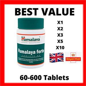 HIMALAYA  Rumalaya Forte 60 - 600 Tabs   All-Natural Joint Support
